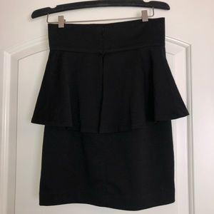 NEW BB Dakota Peplum Skirt
